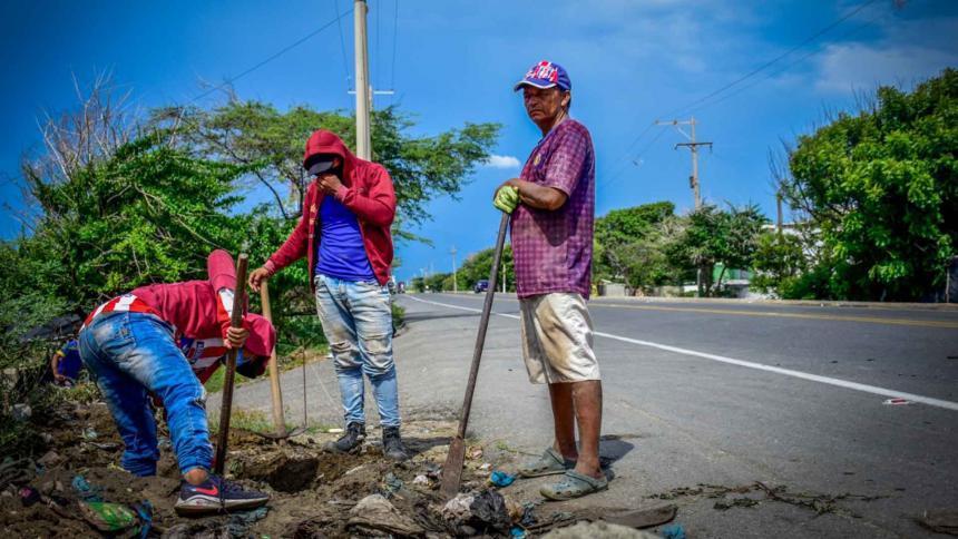 Plan de generación de ingresos para afectados de Tasajera