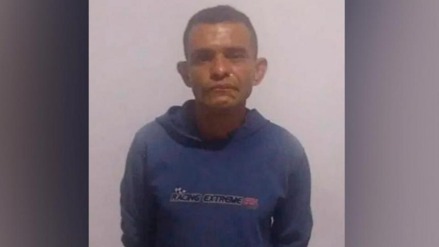 Luis Miguel Caro Pérez, capturado.