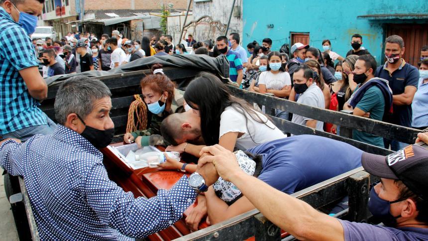 ONU pide desmantelar organizaciones criminales tras masacres en el país