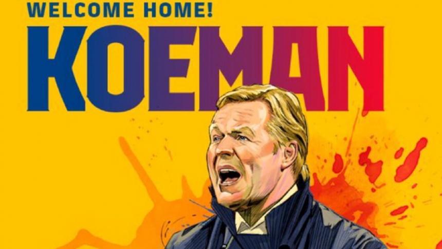 Koeman, el héroe de Wembley, nuevo entrenador del Barcelona