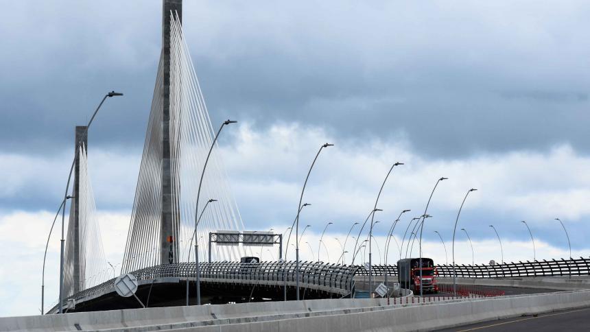 El nuevo puente Pumarejo fue puesto en funcionamiento el 20 de diciembre del año anterior.