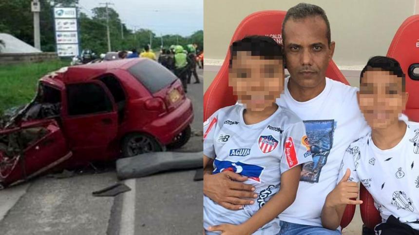Accidente en la vía a Caracolí deja dos menores heridos y huérfanos