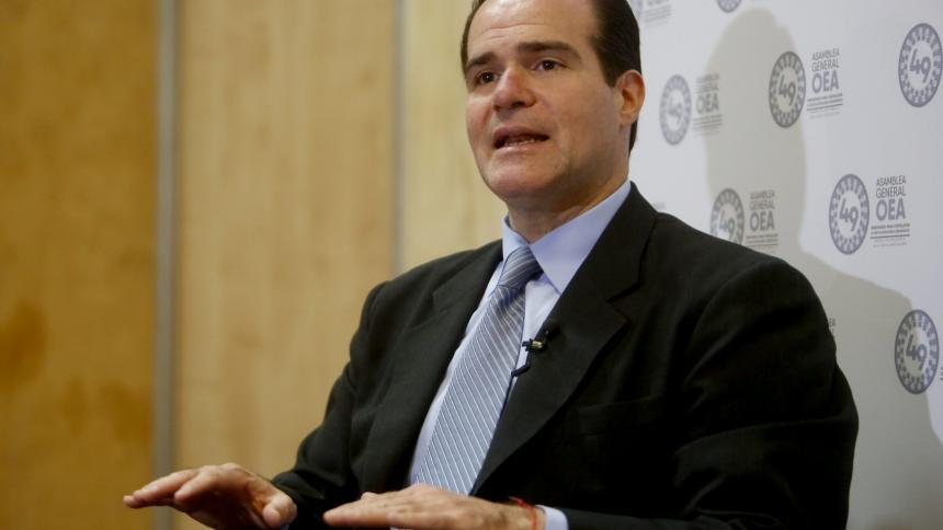 Mauricio Claver-Carone, candidato para liderar el BID.
