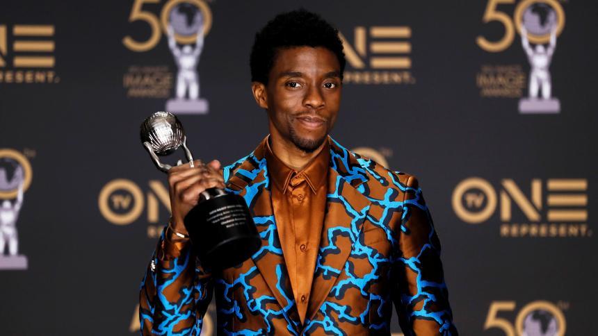 Adiós a Chadwick Boseman, Wakanda se viste de luto