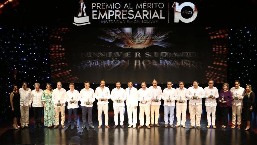 Ganadores del premio en la edición del año 2019.