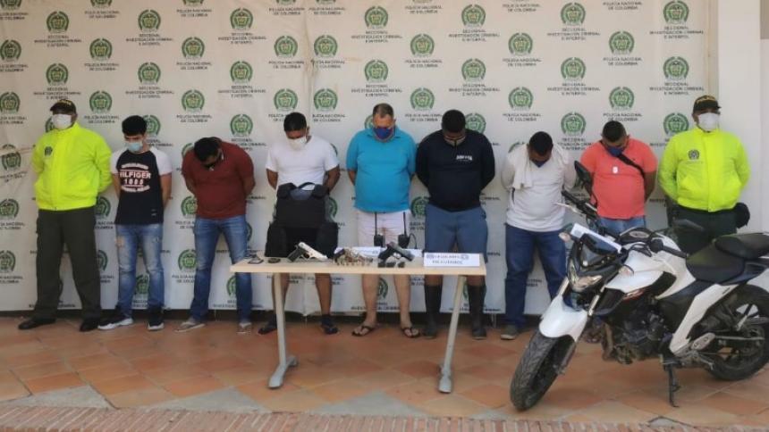 En video | Cae banda señalada del mayor robo a un banco en Cartagena