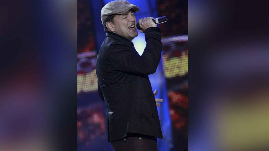 El cantautor panameño Roberto Blades.