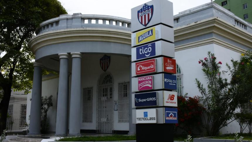 Sede administrativa del Junior de Barranquilla.