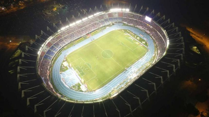 El estadio Metropolitano Roberto Meléndez.