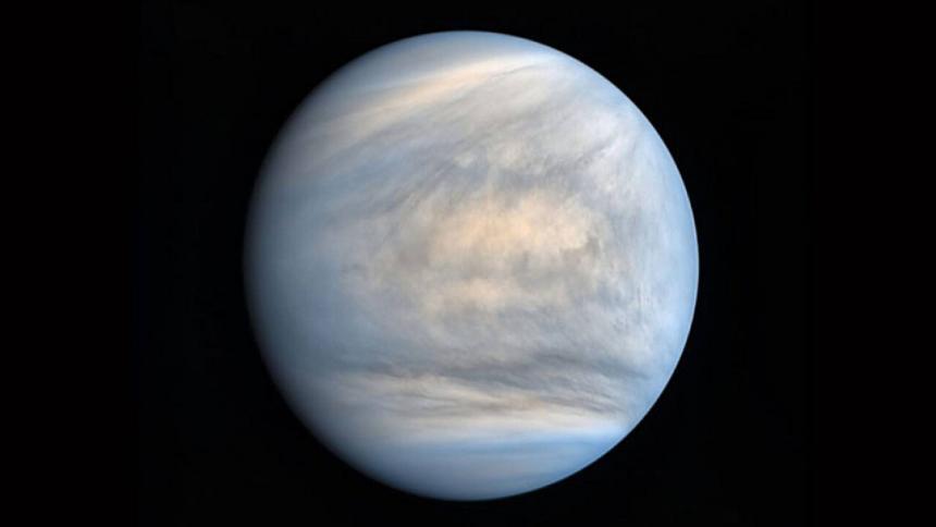 Imagen del planeta Venus.