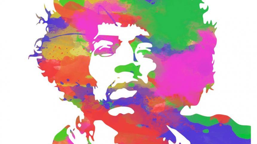 La figura de Jimi Hendrix se convirtió en un ícono de la cultura y el rock para toda la eternidad.