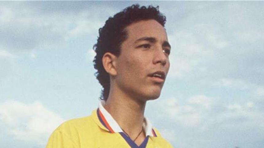 Ricardo Ciciliano en la selección Colombia prejuvenil en 1993.