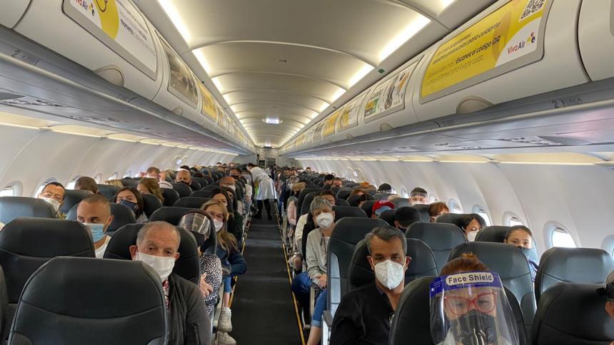 Vuelo de Viva Air ya despegó rumbo a Miami