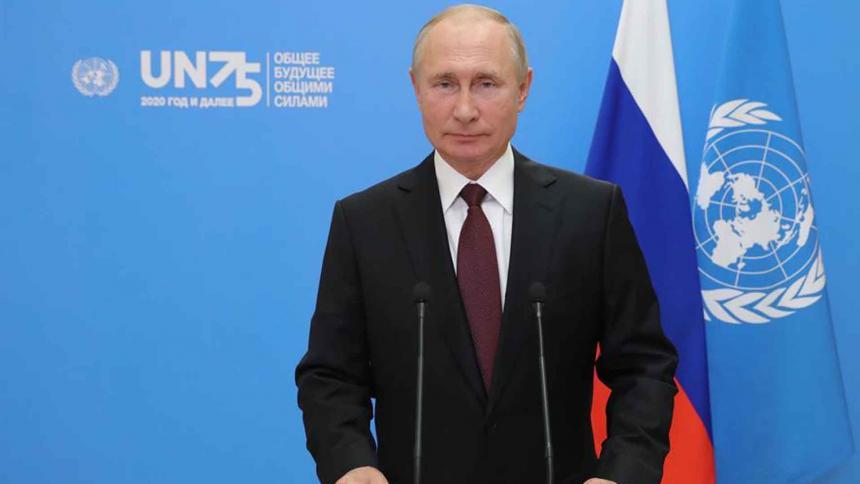Vladímir Putin, presidente de Rusia.