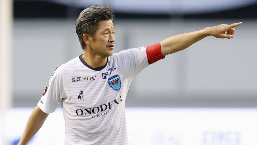 En video | la Liga de Japón hay un delantero con 53 años y medio