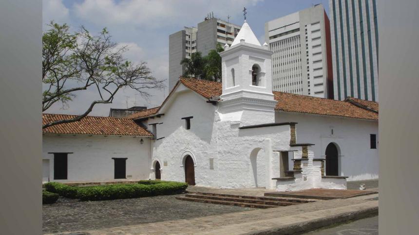 Iglesia La Merced de Cali.
