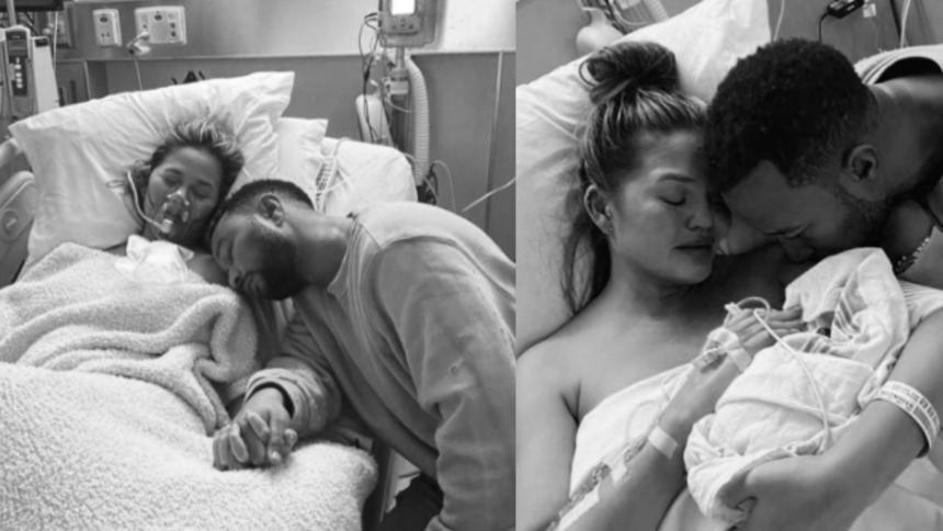 La dolorosa pérdida del hijo menor de Chrissy Teigen y John Legend