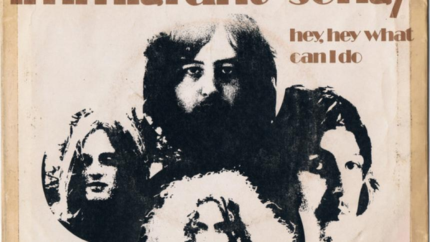 50 años de 'Inmigrant Song', éxito de Led Zeppelin