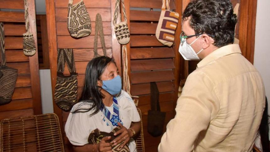 El Magdalena fortalece trabajo de artesanos con apoyo técnico