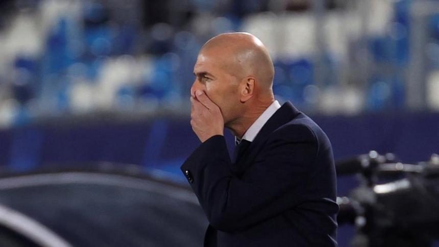 """""""Nos faltó de todo"""": Zinedine Zidane, tras la caída en casa ante el Shakhtar"""