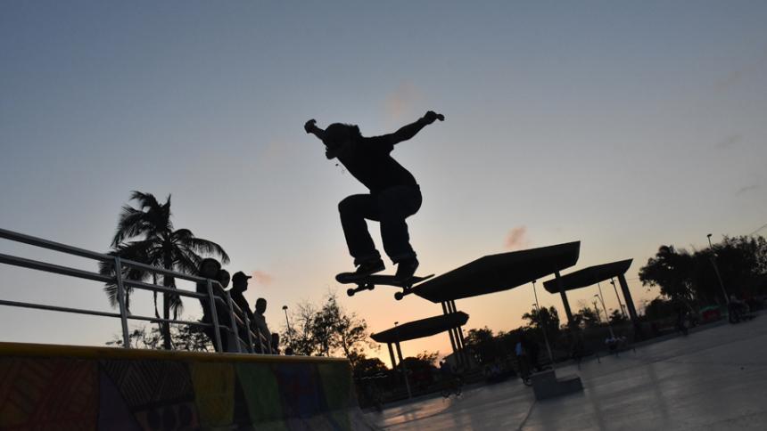 Barranquilla tendrá su primera escuela gratuita de deportes extremos.