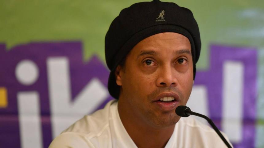 Ronaldinho se encuentra realizando el aislamiento en Belo Horizonte.
