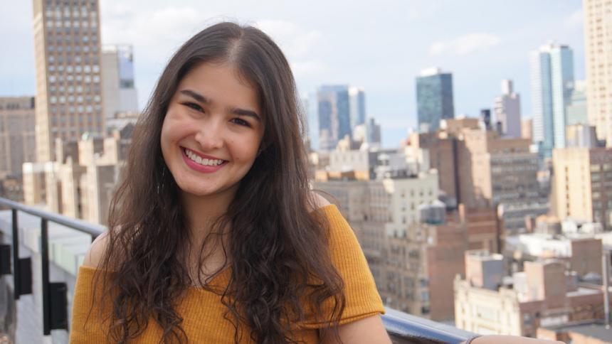 Isabella Gómez, actriz y productora barranquillera.