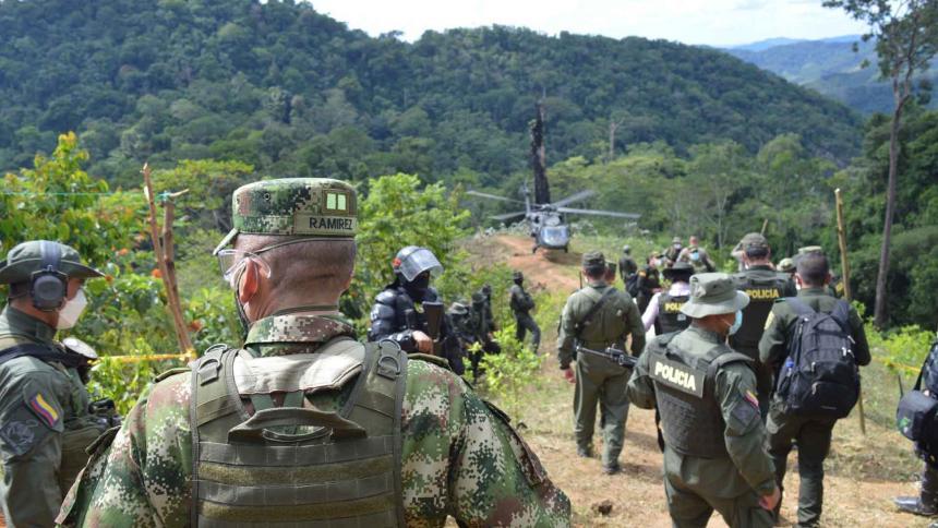 Ejército reporta combates con el 'Clan del Golfo' en el sur de Córdoba