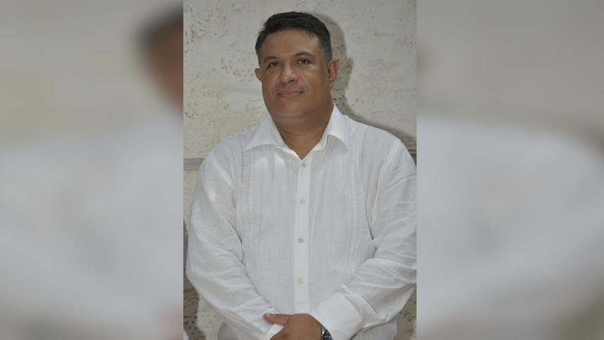 Rosmell Hernández Bresneider, secretario de Gobierno de Soledad.