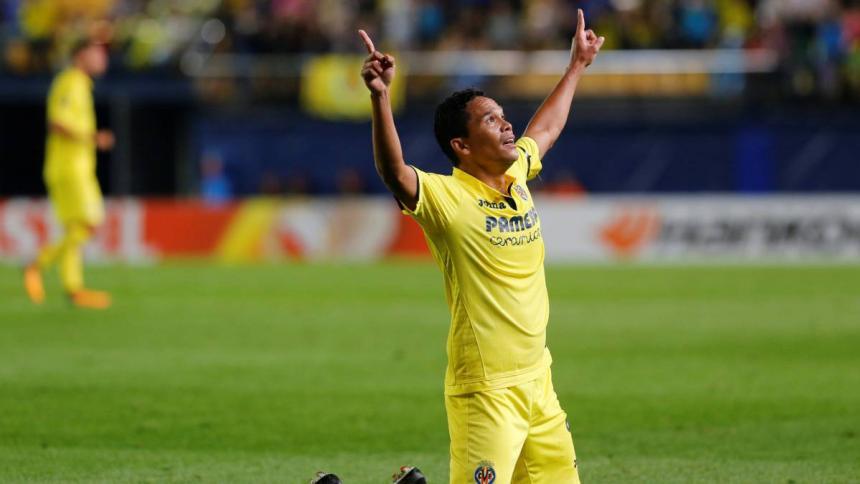 Carlos Bacca espera tener protagonismo con el Villarreal en la Europa League.