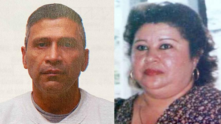 Alias 'Ramón Mojana' (Izq.) y Yolanda del Carmen Paternina Negrete, fiscal asesinada (Der.).