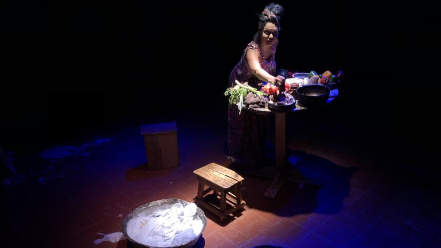 'Victoria', interpretada por Lisbelkis Calvo, ganadora en 'El Escenario es tu casa'.Por Kirvin Larios