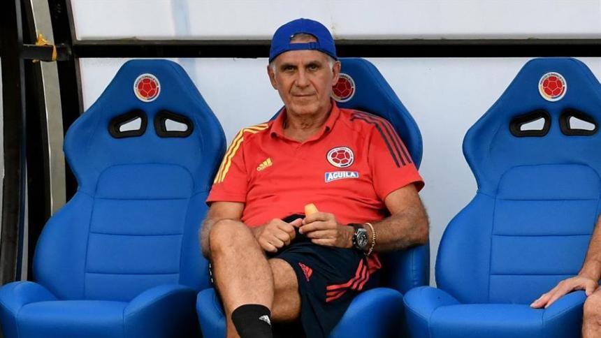 Carlos Queiroz, entrenador de la selección Colombia de mayores.