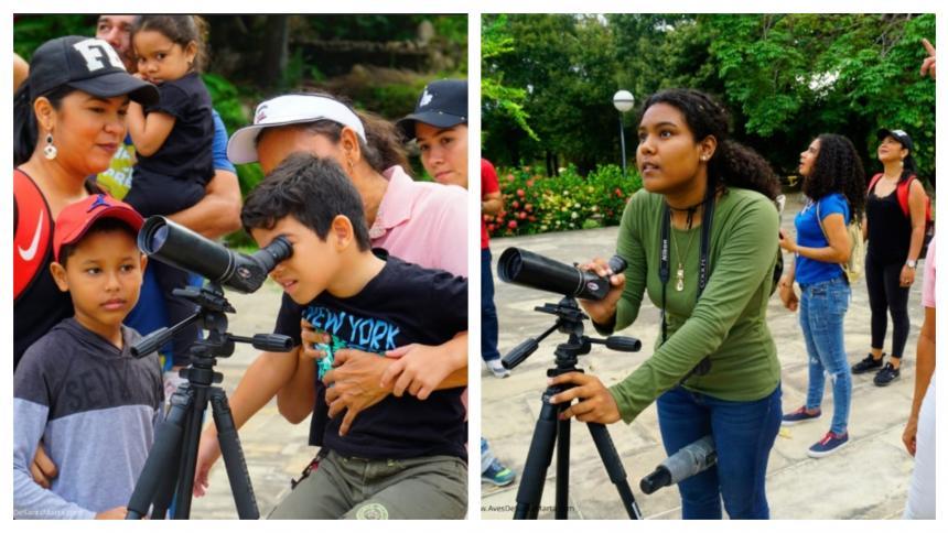 160 especies de aves atrapan miradas en la Quinta de San Pedro