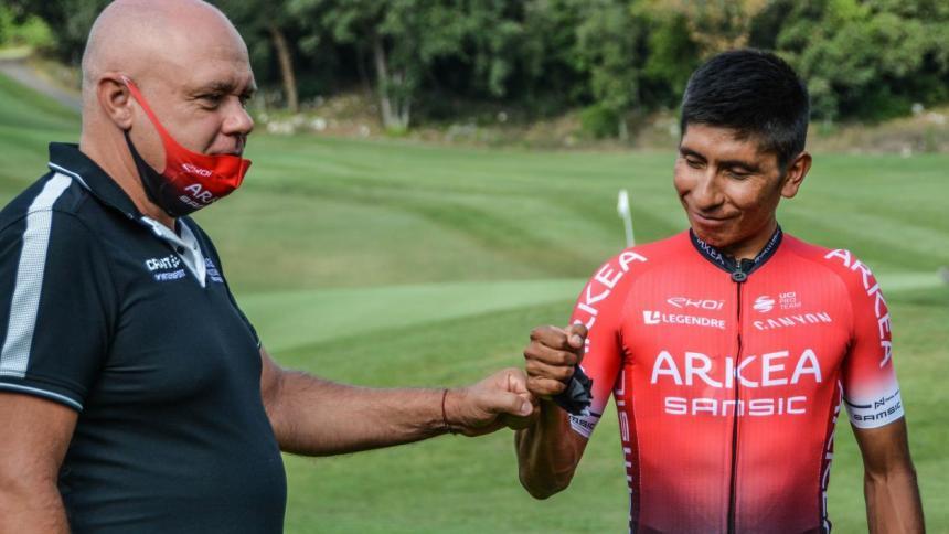 Hubert afirma que tanto Nairo como su hermano seguirán en el Arkea la próxima temporada.