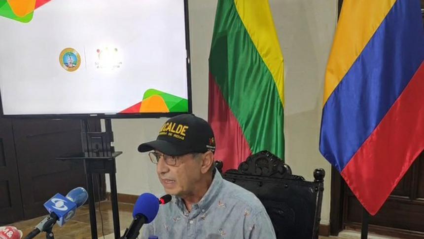 """""""Soy víctima de una persecución de la Procuraduría"""": alcalde de Cartagena"""