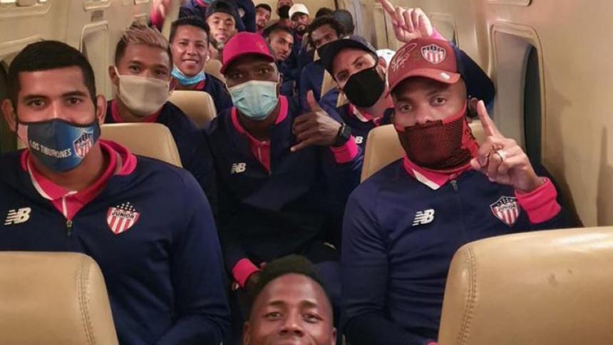 Los jugadores de Junior regresaron ayer mismo a Barranquilla en un vuelo chárter.