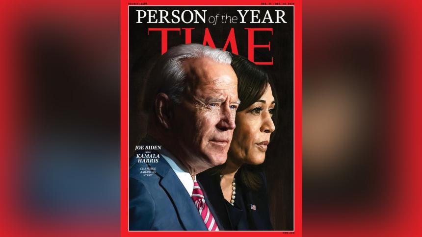 Joe Biden y Kamala Harris, elegidos Persona del Año por la revista Time