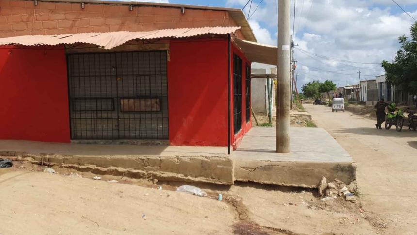 Masacre en Maicao deja tres muertos y un herido