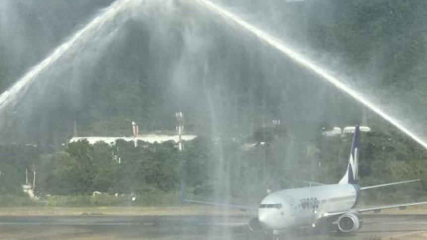 Inauguran nueva ruta aérea entre Santa Marta y Bogotá