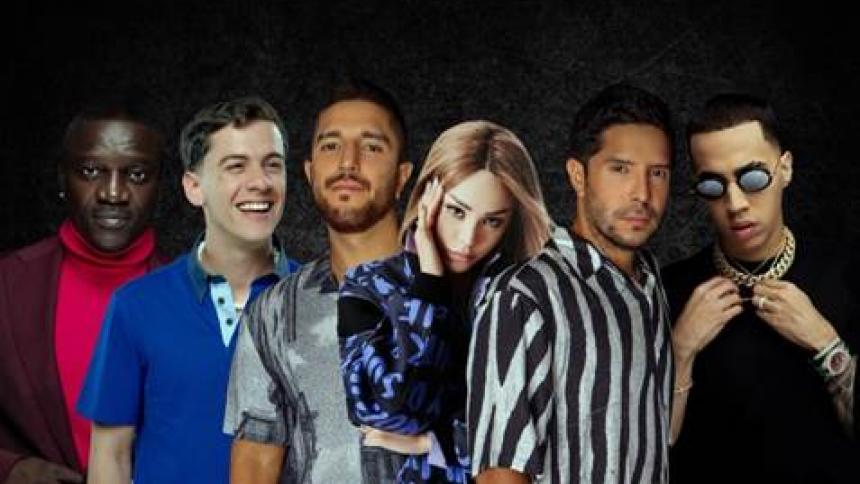 'Nada Remix' de Cali y El Dandee con Danna Paola une voces con más artistas