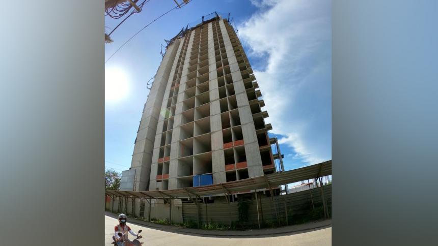 El edificio Aquarela que está en zona de influencia del Castillo San Felipe del distrito de Cartagena.