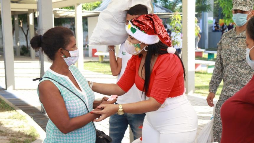200 Familias vulnerables en Malambo reciben ayudas