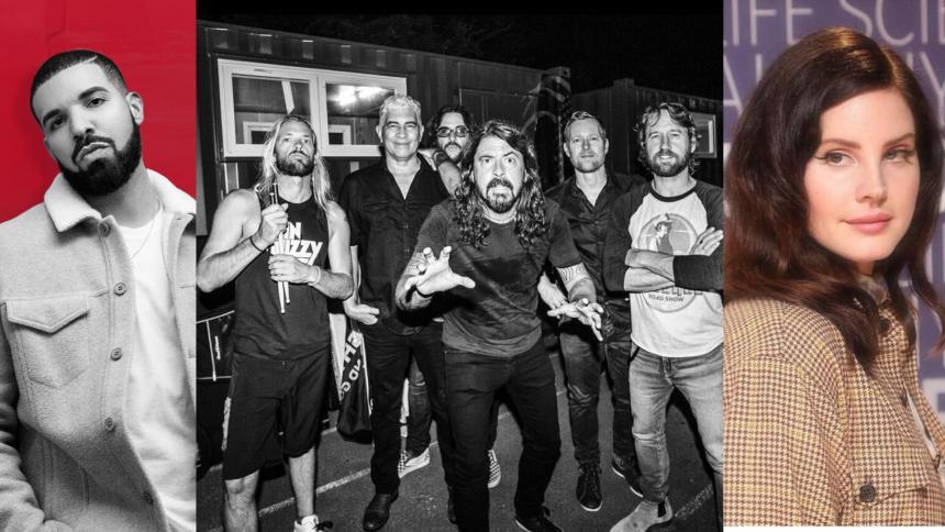 Drake, Foo Fighters y Lana del Rey, nuevos discos de un 2021 de incertidumbre