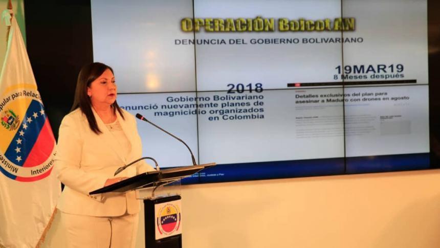 Gobierno de Maduro dice que frustró un plan terrorista de Leopoldo López