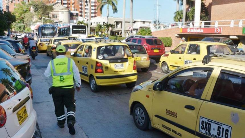 Nuevo calendario de pico y placa de taxis inicia este 4 de enero