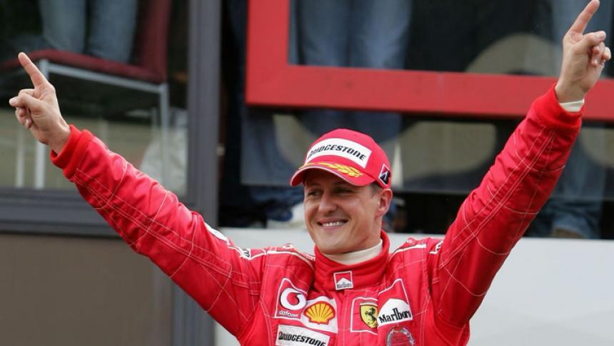 El piloto alemán ganó en siete ocasiones el campeonato del mundo de la Fórmula Uno.