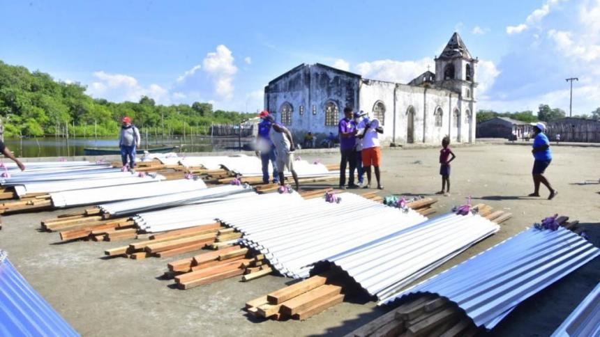Damnificados de Bocacerrada, Sucre, recibieron ayudas