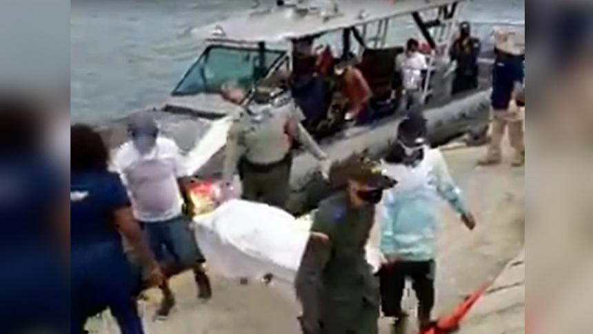 Suben a cuatro los muertos en naufragio de migrantes haitianos en Colombia