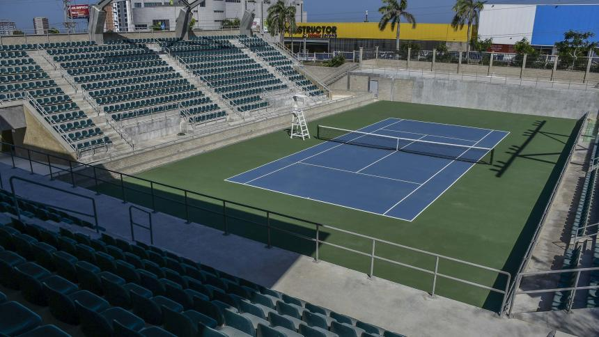 El Parque Distrital de Raquetas será la sede del evento una vez se realice.